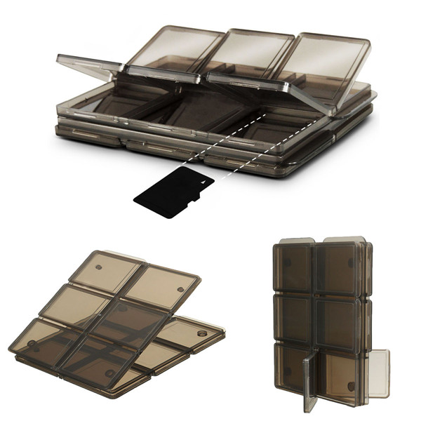 Foldable Memory Card Storage Case