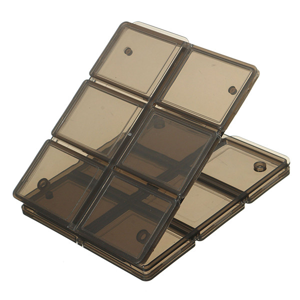 Foldable Memory Card Storage Case
