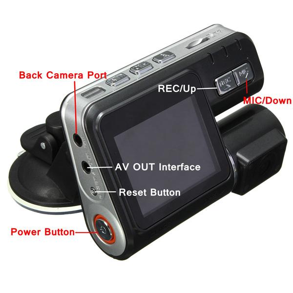 Dash cam HD Dual DK3600W