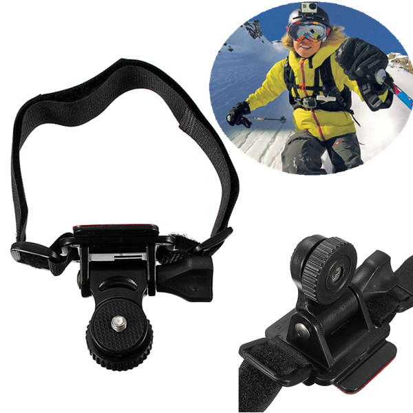 Helmet Strap Mount For Sports Action Camera